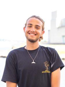 Alexander Picone, istruttore Open Water al Leila Diving Center