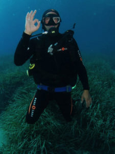 Giovanni Fiori, istruttore Leila DIving Center Olbia