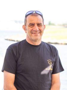Giuseppe Manzoni, istruttore Open Water al Leila Diving Center