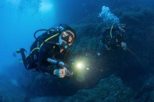 immagine immersione a Capo Figari, Golfo Aranci - foto di Adolfo Maciocco